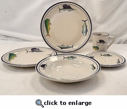 Offshore Fish Dinnerware Set