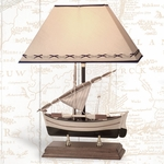 Sailboat Lamp with Stand