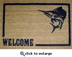 Sailfish Welcome Mat