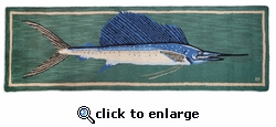 Sailfish Rug Runner