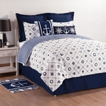 Sailor's Bay Quilt with Standard Shams