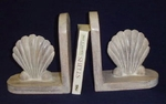 Scallop Shell Bookends