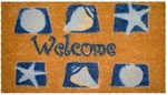 Shells Welcome Mat
