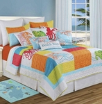 Tropic Escape Queen Quilt