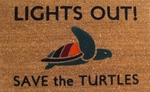 Save the Turtles Doormat