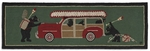 Woody Wagon Rug Runner