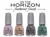 China Glaze On the Horizon Feather Textured Collection, Fall 2013