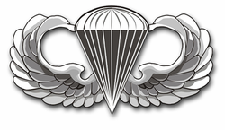 Army Jump Wings Vinyl Transfer Decal
