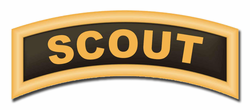 Army Scout Tab Patch Vinyl Transfer Decal