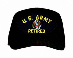 U.S. Army Retired with Logo Ball Cap