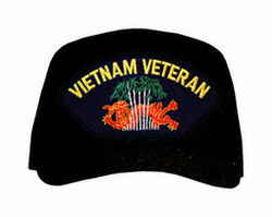 Vietnam Veteran with Dragon Logo Ball Cap