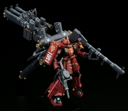 1/144 High Mobility II Zaku Gundam Thunderbolt High Grade figure