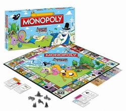 Adventure Time Monopoly game *Dented box*