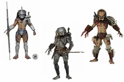 Predators 7-inch action figures Series 12 Set of 3