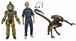 Aliens 7-inch action figures Series 3 Set of 3 pre-order
