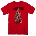 Archer & Armstrong t-shirt Hang In There mens red