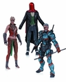 Arkham Origins 3 Pack Deathstroke Joker Copperhead pre-order