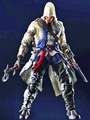 Assassins Creed III Connor action figure Play Arts Kai pre-order