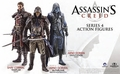 Assassins Creed Series 4 Arno Todd Version Action Figure Case pre-order