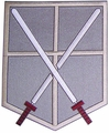 Attack On Titan Cadet Corps Large Patch pre-order