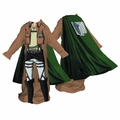Attack On Titan Male Scout Corp Cozy With Cape pre-order