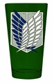 Attack On Titan Scout Badge Pint Glass pre-order