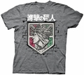 Attack on Titan Shield mens t-shirt