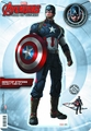 Avengers Age Of Ultron Captain America Desk Standee pre-order