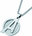 Avengers Logo Pendant Necklace With 24-Inch Chain pre-order