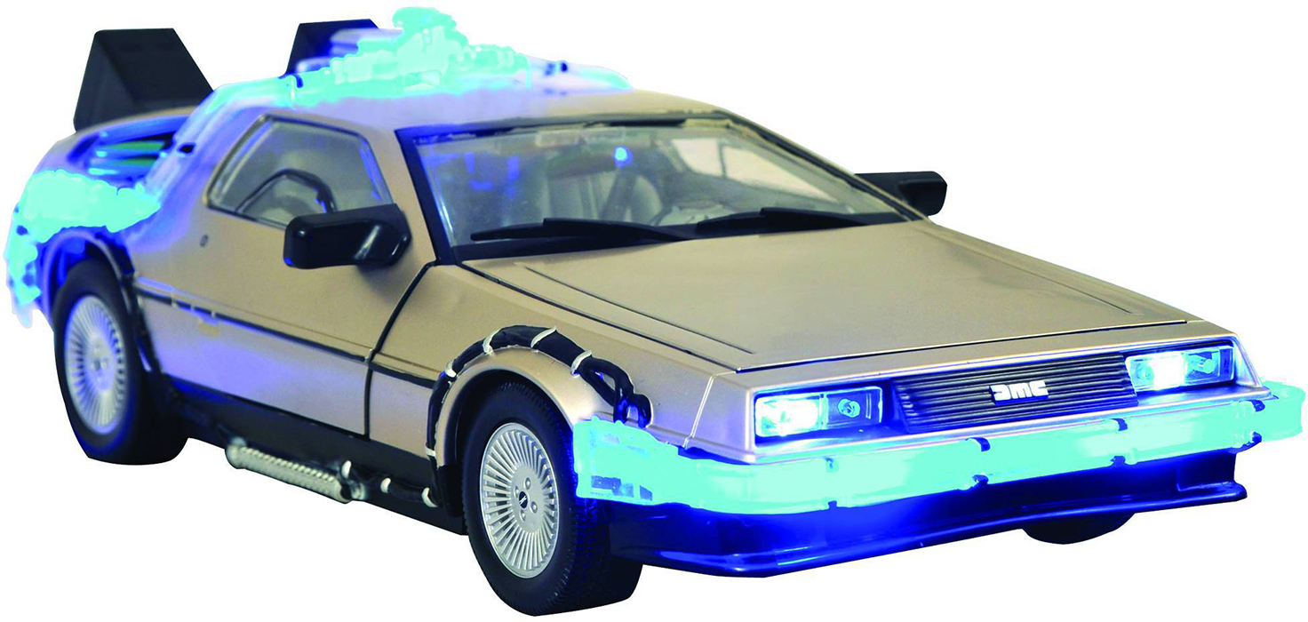 Back to the future time machine mark i car urban collector