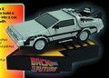 Back To The Future Time Machine Shakem Prem Motion Statue pre-order