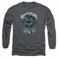 Bane adult long-sleeved shirt Will Break You charcoal