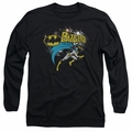 Batgirl adult long-sleeved shirt Batgirl black