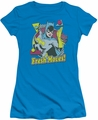 Batgirl juniors t-shirt Fresh Moves turquoise