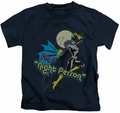 Batgirl kids t-shirt Night Person navy
