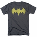 Batgirl Logo distressed DC Originals mens t-shirt