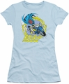 Batgirl Motorcycle DC Originals juniors t-shirt