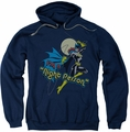 Batgirl pull-over hoodie Night Person adult navy