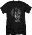 Batgirl slim-fit t-shirt Bad Girls Are Good mens black