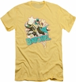 Batgirl slim-fit t-shirt I'm Batgirl mens banana