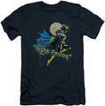 Batgirl slim-fit t-shirt Night Person mens navy