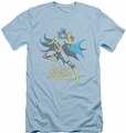 Batgirl slim-fit t-shirt See Ya mens light blue