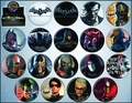 Batman Arkham 144-Piece Button Asst pre-order