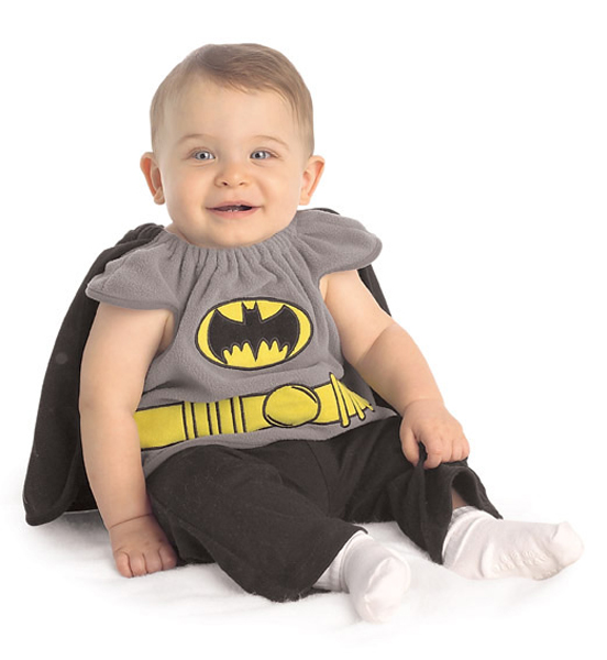 Batman Newborn Bib Cape