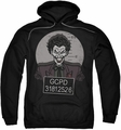 The Joker pull-over hoodie Busted! adult black