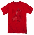 Harley Quinn t-shirt Harley's Packing mens red