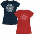 Battlestar Galactica juniors t-shirts