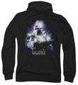 Battlestar Galactica pull-over hoodie 35th Anniversary Cylon adult black