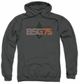 Battlestar Galactica pull-over hoodie BSG 75 adult charcoal