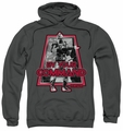 Battlestar Galactica pull-over hoodie By Your Command Classic adult charcoal